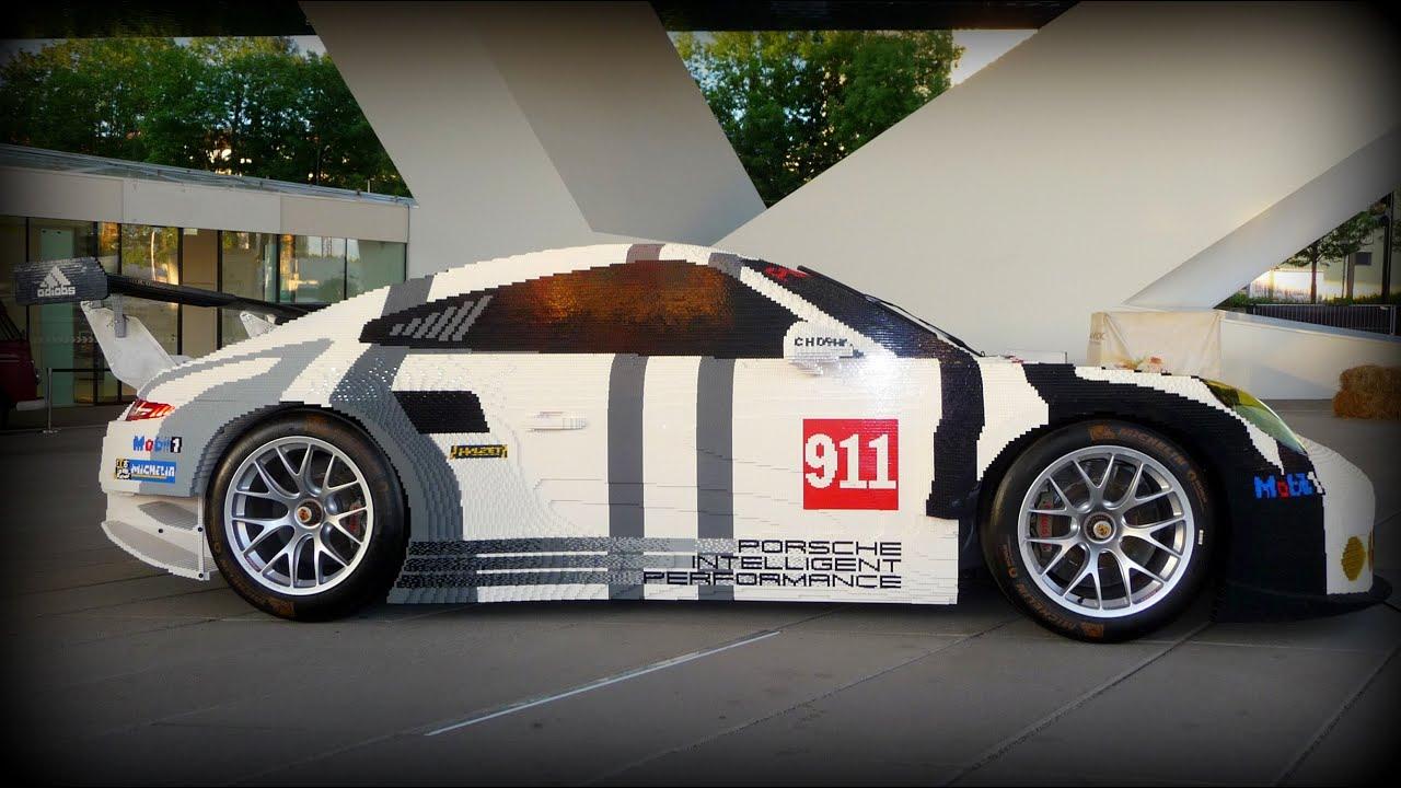 lego porsche 911 rsr 1 1 scale 380 000 bricks 2016. Black Bedroom Furniture Sets. Home Design Ideas