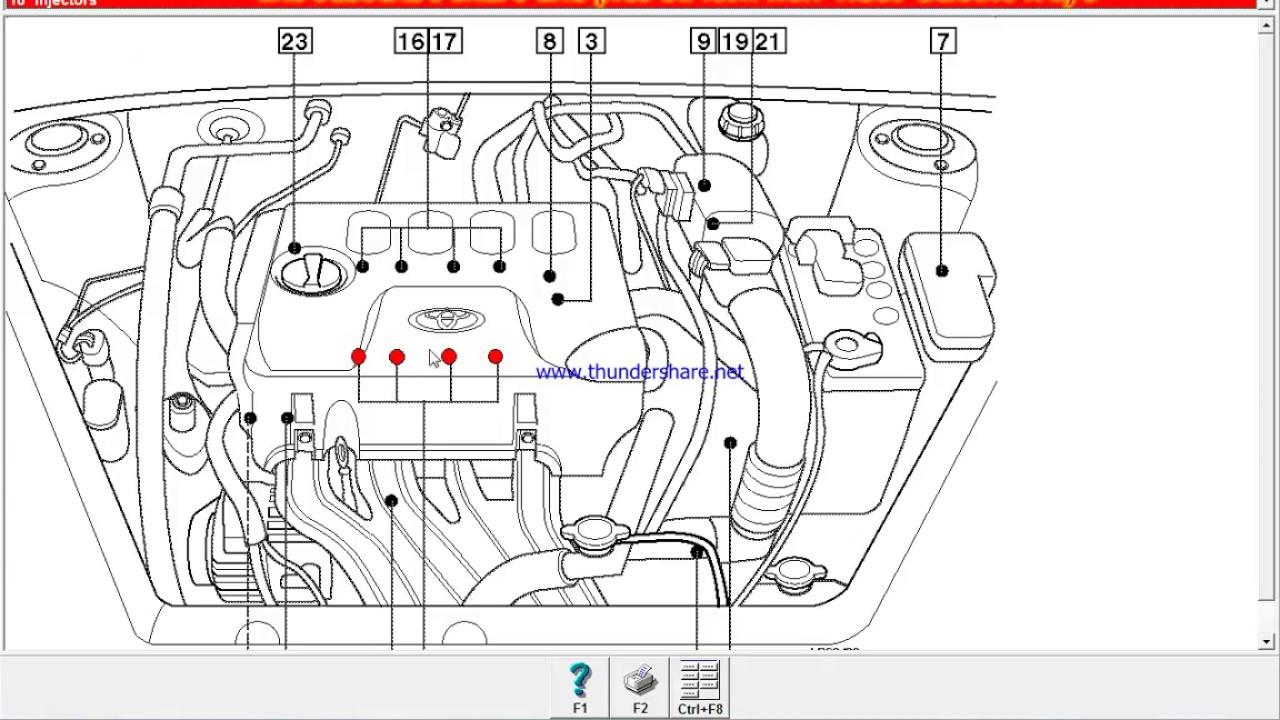 Toyotum Echo Engine Diagram