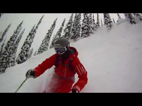powder skiing in Revelstoke BC shot entirely on GoPro helmet cams