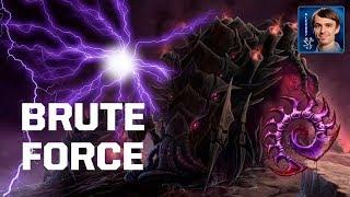 ПОБЕДА ГРУБОЙ СИЛОЙ - BRUTE FORCE ZERG в StarCraft II