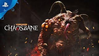 Warhammer: Chaosbane – Gameplay Trailer | PS4