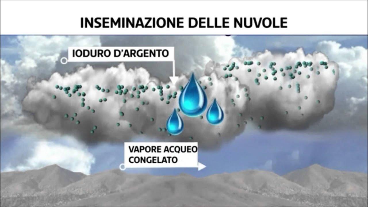 Inseminazione delle Nuvole come le Scie Chimiche (Chemtrail)? ne parla la Televisione Svizzera