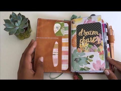 Traveler's Notebook Mr. Darcy Personal Size SetUp August/September 2016