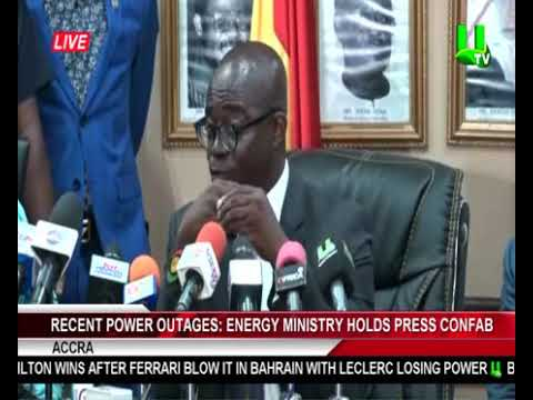 Energy Minister Holds Press CONFAB On Recent Power Outages