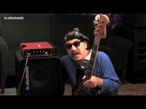 Bobby Vega groovin' on a Staccato'51 from TC Electronic