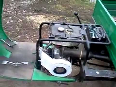 Двигатель лифан на муравье