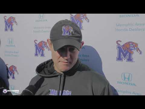 University Of Memphis Football Practice Media Availability- 12/18/19