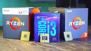 Budget 4 Core Showdown - i3-8100 Vs. Ryzen 2200G Vs. Ryzen 3 1200 (NO OC)