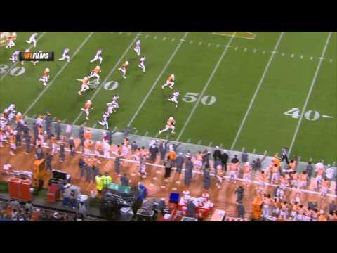 Tennessee vs. Arkansas (10.3.15): Evan Berry 96-Yard Kickoff Return for TD