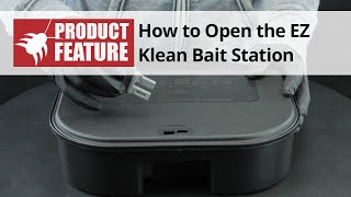 How to Open the EZ Klean Rodent Bait Station