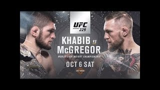 Conor McGregor vs Khabib Nurmagomedov | A Fight For The Ages