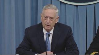 Шеф Пентагона  нет сомнений, что за химатакой в Идлибе стояли власти Сирии