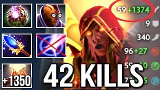 Non-Stop Duel Imba LC Octarine Core Counter Anti-Mage by Waga Crazy Gameplay 7k Dota 2