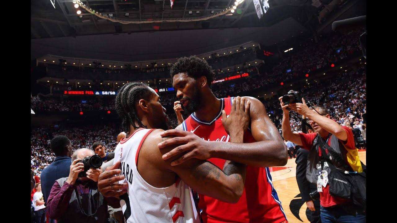 Joel Embiid Breaks Down To Tears After Kawhi Leonard Game 7 Game-Winner