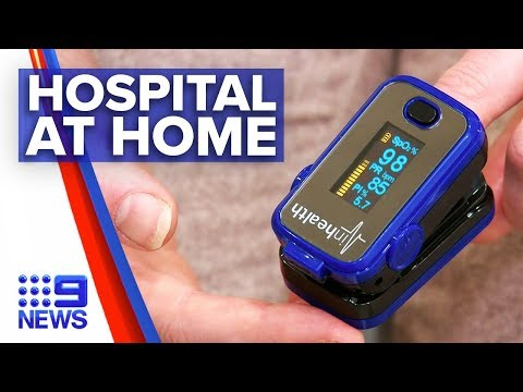 Coronavirus: New Technology To Monitor COVID Symptoms From Home | Nine News Australia