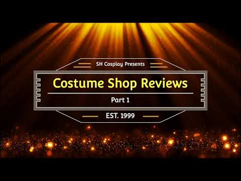 [Review] Various Cosplay Shops Part 1
