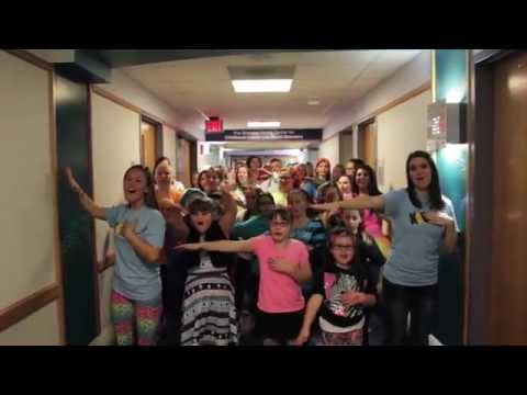 """I Lived"" OneRepublic Lip Dub: Akron Children's Hospital and KSU Flash-A-Thon"