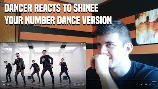 Gambar cover DANCER REACTS TO SHINee Your Number DANCE VERSION