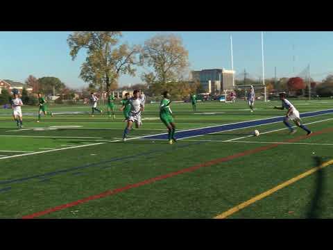 Lawrence Tech vs. Marygrove - 2017 WHAC Men's Soccer Semifinal Highlights