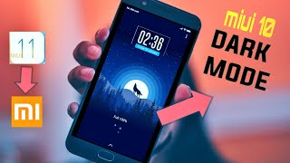 Download How To Enable Dark Mode On Miui 10 Dark Mode In