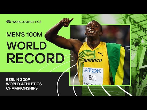 World Record | Men's 100m Final | World Athletics Championships Berlin 2009