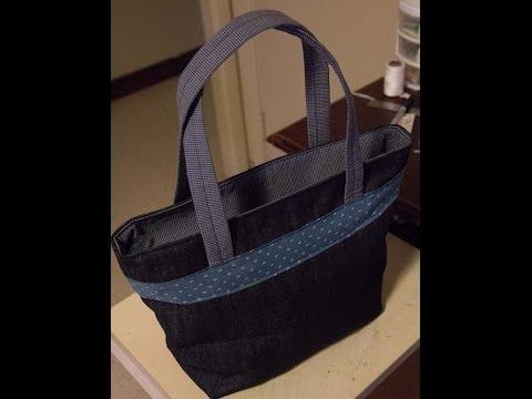 Zippered Purse Part 1 (Constructing The Bag)