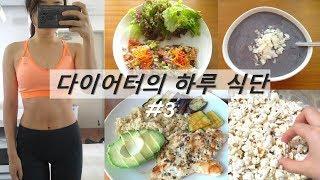 DIET식단#3|스무디/아보카도참치샌드위치/팝콘/닭가슴…