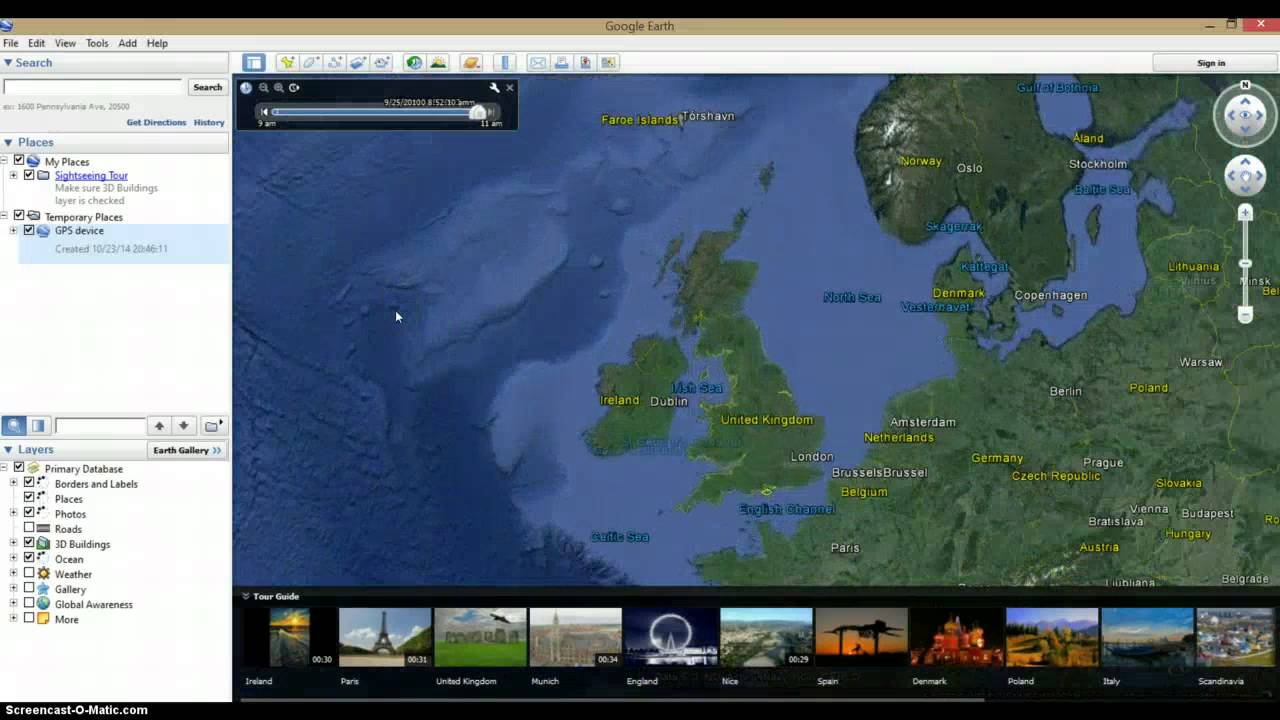 Loading GPX Files Into Google Earth