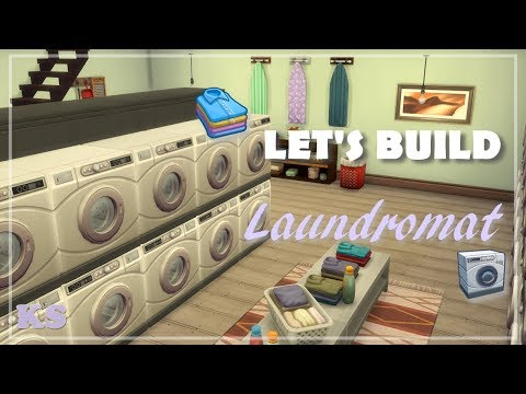 Laundromat | The Sims 4: Speed Build (Laundry Day Stuff Pack) |