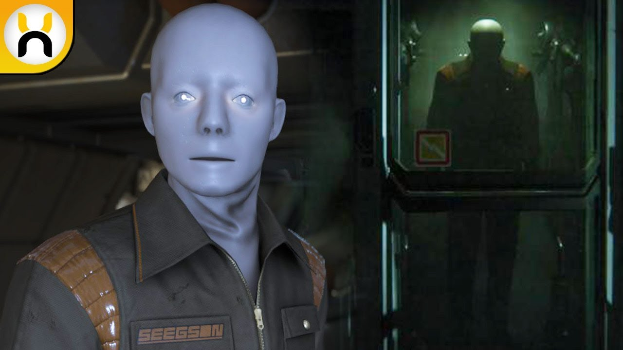 Blogue Alien S Android S: Alien: Isolation Working Joe Androids