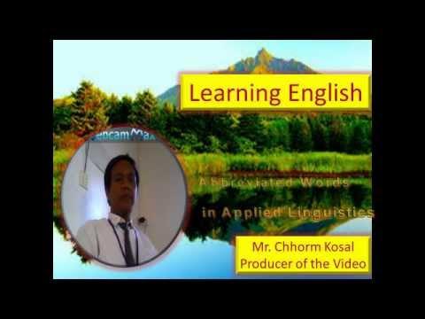 Applied Linguistics  Applied Linguistics vocabulary  Applied Linguistics word list
