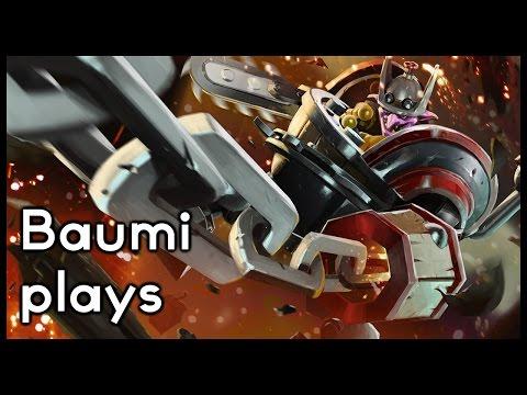 Dota 2 | ROD OF ATOS IS AWESOME!! | Baumi plays Timbersaw