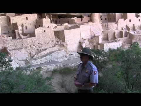 A video visit to Cliff Palace at Mesa Verde National Park in Colorado.