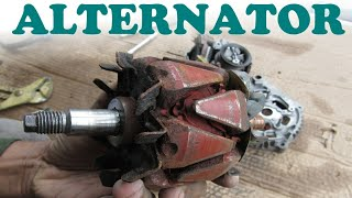 How an Alternator Works