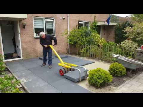 Terras herstellen in heiloo 100 x 100 cm tegels doovi - Tegels van cement saint maclou ...