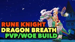 Ragnarok M Rune Knight Dragon Breath PVP & WoE Build