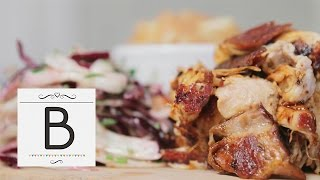 Pulled Pork With Summer Slaw And Apple Compote | Bridal Bites S2e5/8