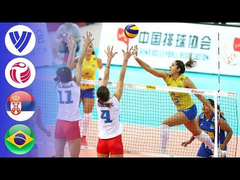 Serbia Vs. Brazil - Full Match   Semifinal   Women's Volleyball World Grand Prix 2017