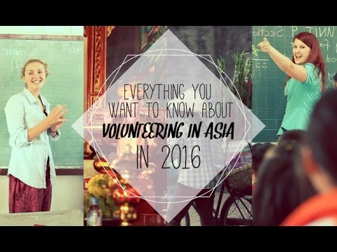 Volunteering In Asia In 2016: Everything You Want To Know | IVHQ Webinar
