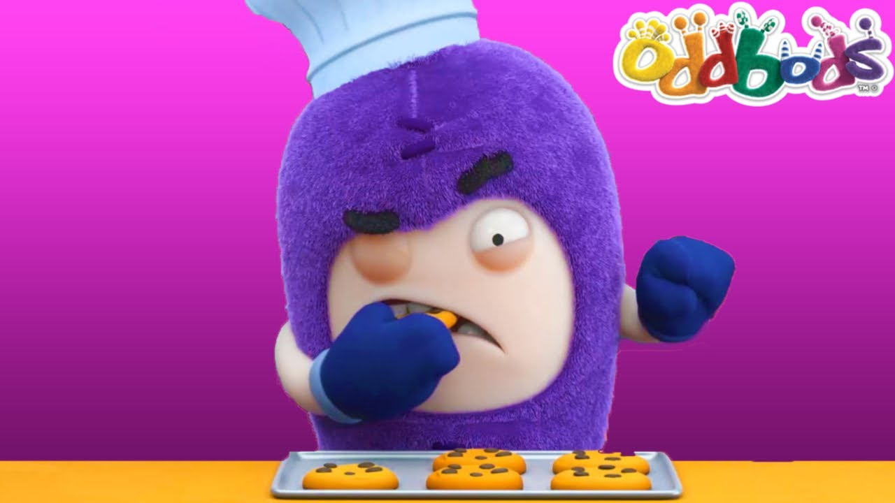 Baking Cookies With The Unusual Recipe | Oddbods FULL EPISODE | Funny Cartoon For Kids