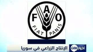 الأمم المتحدة : تراجع خطير بالإنتاج الزراعي بسوريا