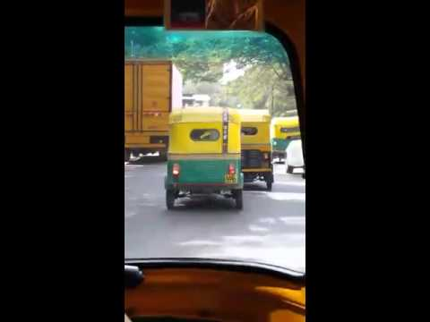 Chariot race: Bangalore by auto-rickshaw
