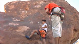 Youssef & Marco Bouldering Wadi Al Raha   Saint Catherine = August 2011 Thumbnail