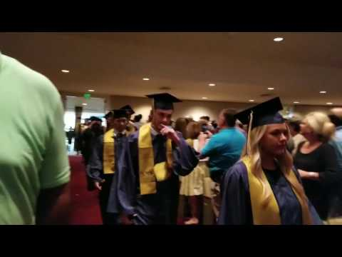 Massive brawl breaks out at Tennessee high school graduation
