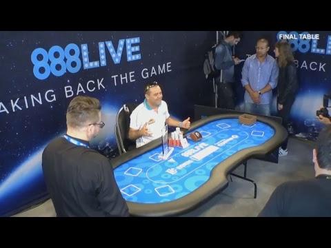 888Live São Paulo Main Event Livestream: Final Day