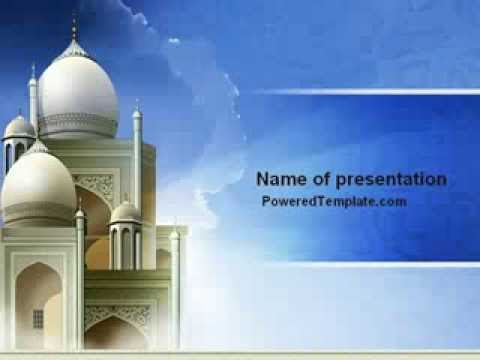 Islamic architecture powerpoint template by poweredtemplate islamic architecture powerpoint template by poweredtemplate youtube toneelgroepblik Images