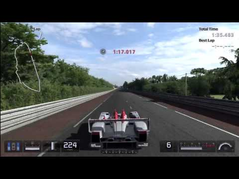GT5 - Audi R10 TDI Race Car Top Speed Run