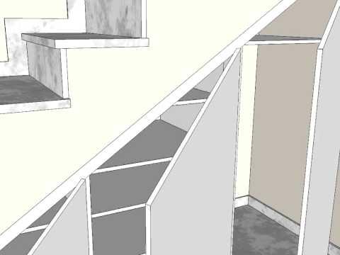 Como hacer un armario debajo de escalera funnycat tv for Puertas debajo escalera