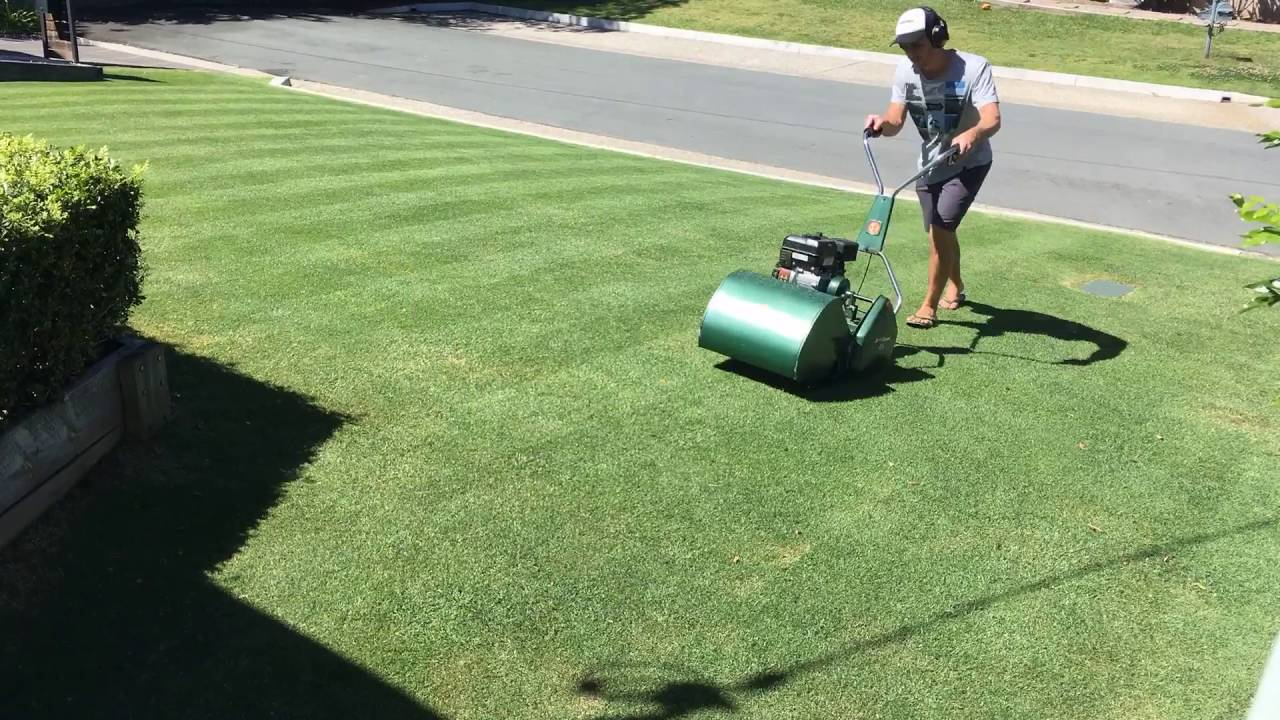 Lawn Mowing With Scott Bonnar Youtube