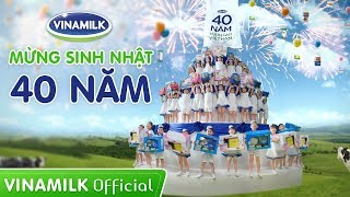 Mừng Sinh nhật 40 năm Vinamilk – Tưng bừng quà tặng